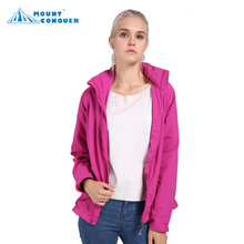 Women's One Layer Thin Spring Summer Autumn Windbreaker Hiking Hunting Outdoor Hooded Jaqueta Waterproof Hiking Jackets facecozy men waterproof hiking jackets one layer thin spring summer autumn windbreaker camping hunting outdoor male hooded coat