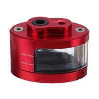 Red Brake Clutch Master Cylinder Fluid Reservoir Tank For Suzuki GSXR600 GSXR1000 750 2001 2012 02