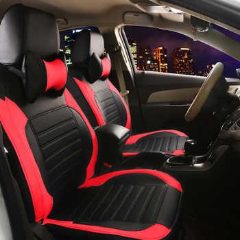Housse de siège de voiture en cuir pour Hyundai ix30 ix35 Sonata ELANTRA mitoyen Tucson Accent SantaFe coupé XG Trajet Matrix EQUUS Veracruz