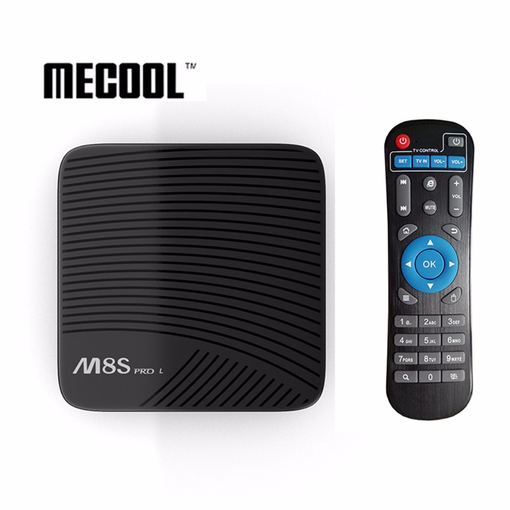 MECOOL M8S PRO L TV BOX S912 3G/32G 802.11ac Android 7.1 Bluetooth 4.1 support youtube 4k US Plus Built in 2.4G/5G WiFi 16G/32G