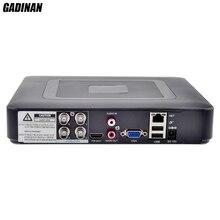 GADINAN 4CH 1080N AHD DVR NVR recorder H.264 P2P CCTV 5 In 1 for AHDH AHDNH AHD-M 960H D1 Camera Hybrid 2 Analog 720P+2 IP 720P