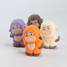 Soap Mold Silicone Molds for Handmade Soaps Cartoon Big-Mouthed Monkey Shape Decorating Tools