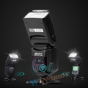 Image 5 - Triopo tr TR 950 Flash Light Speedlite Universale Per Fujifilm Olympus Nikon Canon 650D 550D 450D 1100D 60D 7D 5D Fotocamere REFLEX Digitali