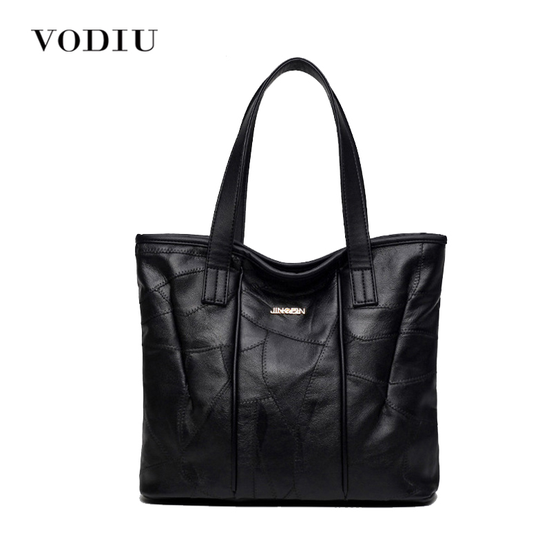 Women Bag Handbag Tote Over Shoulder Crossbody Messenger Genuine Leather Female Luxury Designer Bolsas Cool Black 2017 Lady Bags luxury genuine leather bag fashion brand designer women handbag cowhide leather shoulder composite bag casual totes