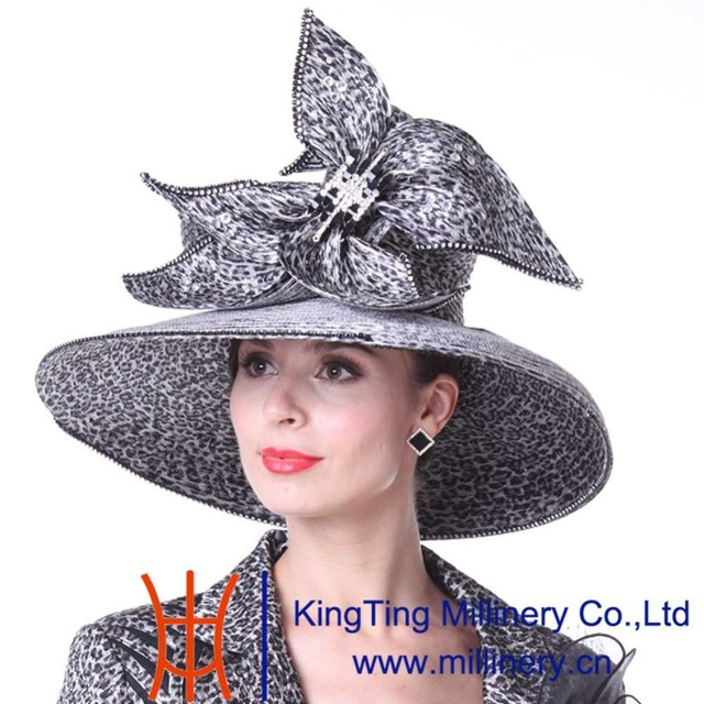 30a43790400 Kueeni Women Hats Special Designer Diamond Casing Wedding Party Church Hats  Summer Fashion Large Exaggerate Evening Dress Hats