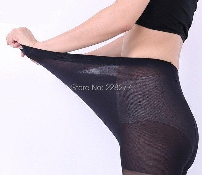 3 Pairs Big size 15D Sexy Full Foot Womens Long Stockings thin Semi Sheer Tights Pantyhose Panties Wholesales Free Shipping