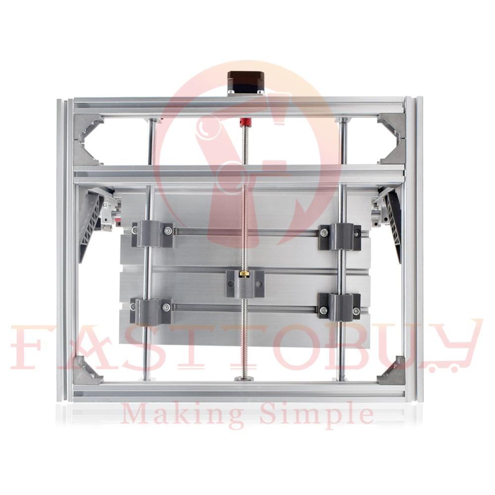 Купить с кэшбэком CNC Laser Engraving Machine CNC1610 110-240VAC 160*100*40mm 9000rpm for Plastics/Wood/Acrylic/PVC/PCB Mini CNC Engraving Machine