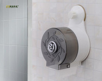 1PC Plastic Waterproof Toilet Tube Paper Towel Rack Shaft With Powerful Suction Box Tissue Extraction Bathroom