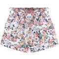 Estilo europeo y Americano 2016 Mujeres Pantalones Cortos de Verano Tamaño XL-5XL Diseño Flor Moda Impreso Señora Casual Pantalones Cortos Caliente