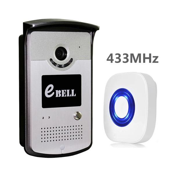 Night Vision Wifi Lan Smart Doorbell 720P Door Camera App Control Video Intercom Ebell Brand