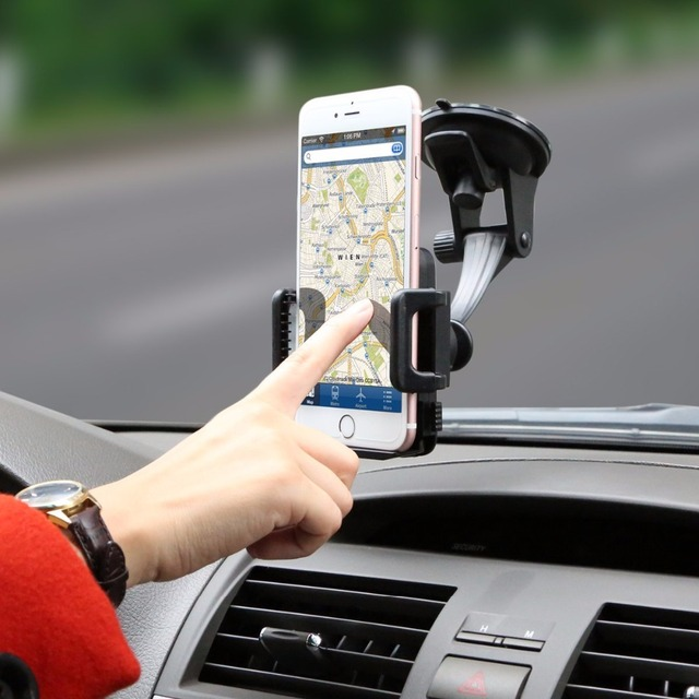 Car Phone Mount, (Cell Phone Holder), Car Accessories For iPhone 6s ...