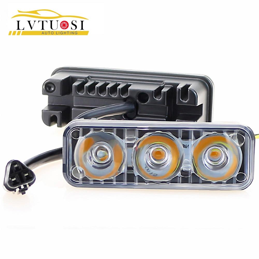 LVTUSI Avtomobil LED Dönüş Siqnal Lampası DRL DC Gündüz - Avtomobil işıqları - Fotoqrafiya 1