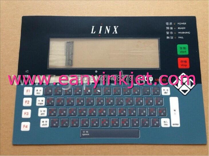 New Original Linx keyboard Linx inkjet keyboard display for Linx 6200 inkjet printer