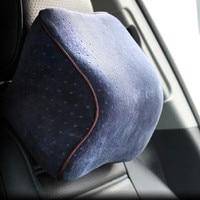 Memory Foam Neck Pillow Car Seat Pillow Winter Car Headrest Memory Foam Auto Supplies Neck Pillow