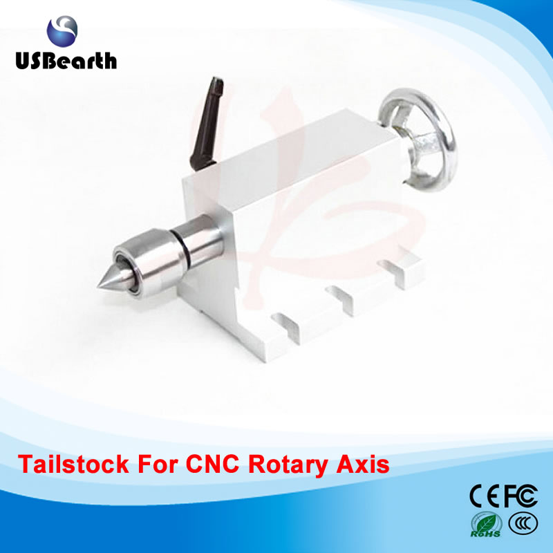 CNC Woodworking Machine tailstock 4 Axis,MT2 Rotary Axis Lathe cnc 5axis a aixs rotary axis t chuck type for cnc router cnc milling machine best quality