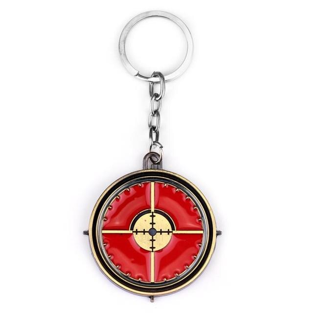 Movie Jewelry The Avengers 3 Keychain Hawkeye And Black Widow Shield