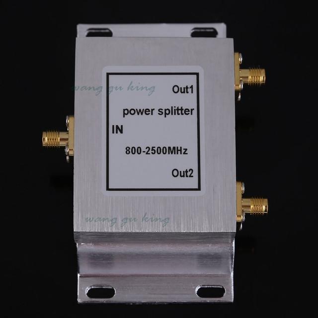 SMA-Tipo 2-Way Poder Divisor Splitter para GSM CDMA 3G Impulsionador Repetidor Reforço de Sinal Divisor
