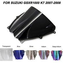 Motorcycle Windscreen Windshield GSXR 1000 Screws Bolts Accessories For Suzuki GSXR1000 K7 2007 2008 Wind Deflectors мото обвесы gsxr1000 07 08 suzuki gsxr1000 07 08 k7