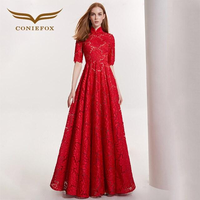 feestelijke rode jurk