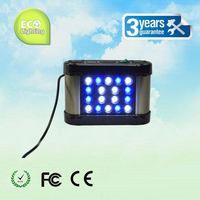 Phantom 50 W LED aquarium licht, afstandsbediening dimmen en timing, blauw: wit = 1:1, 3 W LEDS voor kolen rif, aanpasbare