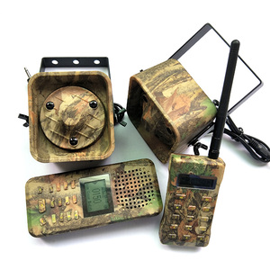 Image 3 - おとり狩猟ブリッド発信 300 500 m Remoteremote 制御 2*50 ワット外部拡声器エレクトロニクス動物発信者狩猟用