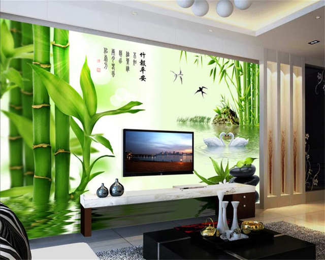 Beibehang Custom Tapete Wohnzimmer Schlafzimmer Wandbild 3D Tapete ...