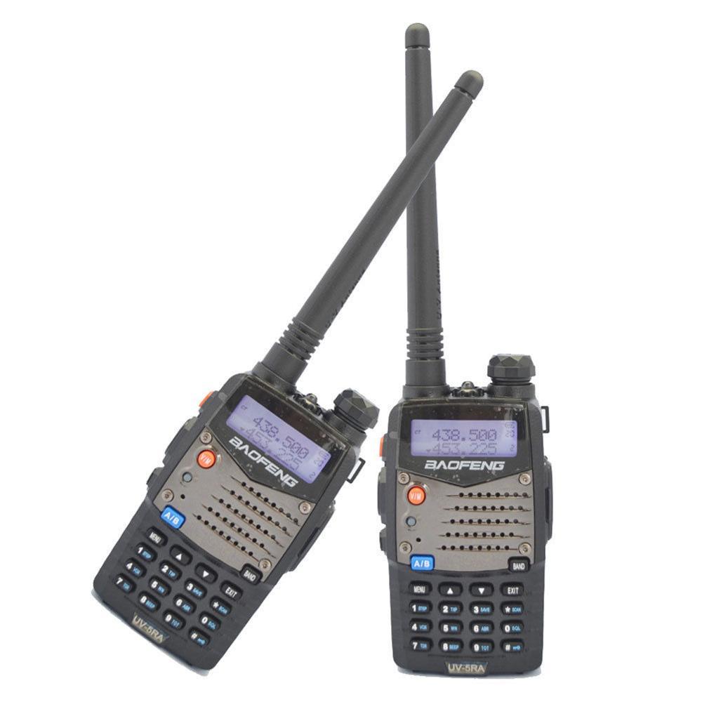 2-sets Baofeng UV5RA 5R PLUS 136-174/400-520 MHz Dual-Band Ham Two Way Radio2-sets Baofeng UV5RA 5R PLUS 136-174/400-520 MHz Dual-Band Ham Two Way Radio