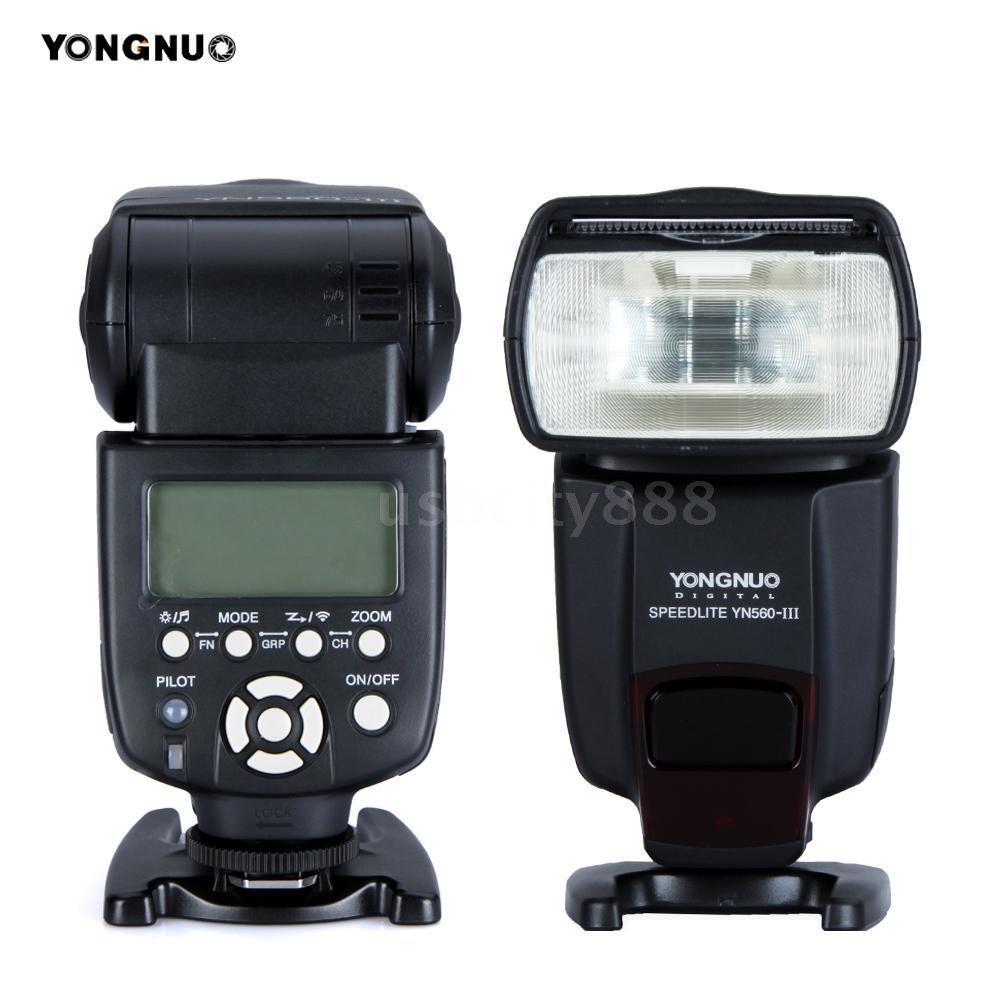 Oversea Stock YONGNUO YN560 III GN58 Camera Flash Speedlite Support RF 602 603 Speedlight for Canon