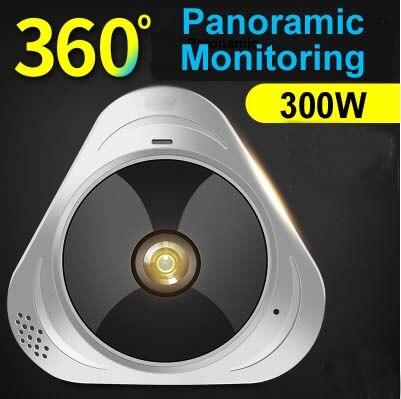 Здесь продается  MOUNTAINONE New Arrival MINI WIFI HD Camera,Multi-angle quad screen 300W IP Camera 360 degree panoramic monitoring +TF Card  Безопасность и защита
