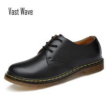 Большие размеры; бренд 1461 года; дышащие мужские туфли-оксфорды; модельные туфли; мужская обувь на плоской подошве; модная повседневная обувь из натуральной кожи; Рабочая обувь