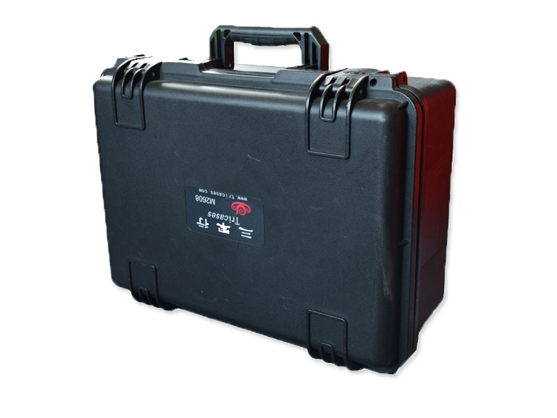 Tricases Shanghai factory OEM/ODM IP67 waterproof hard PP plastic carrying tool case with pre-cut foam M2608 tricases factory oem odm waterproof hard plastic case profession trolley tool cases m2360