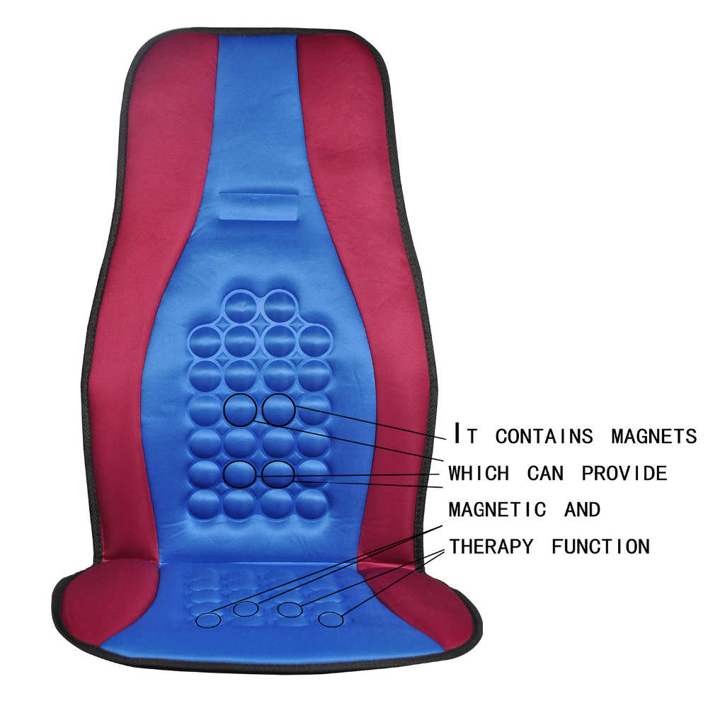 Massage Pad Seat Covers Car Chair Mat Seats Cushion Magnet Round