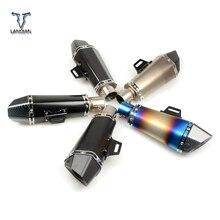 Универсальная выхлопная труба с глушителем для мотоцикла или велосипеда, 36 51 мм, с ЧПУ, для Honda cbr 650f cbr650f cbr 650 f /cb650f cb 650f