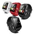 Novo bluetooth smart watch u8 u watch para samsung htc huawei lg xiaomi android phone smartphones apoio sincronização chamada mensagem