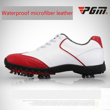 Женские кроссовки для гольфа из натуральной кожи, спортивная обувь без шипов, дышащая водонепроницаемая обувь для женщин