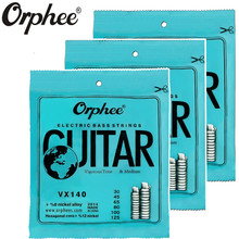 Original Orphee VX140 030-125 Electric Bass Strings 6 Strings bass Nickel Alloy Vigorous Tone guitar Strings 3 set