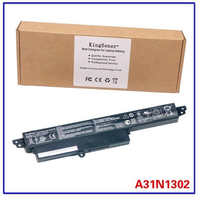"""11.25 v 33wh original kingsener a31n1302 bateria para asus vivobook x200ca x200ma x200m x200la f200ca 200ca 11.6 """"a31lmh2 a31lm9h"""