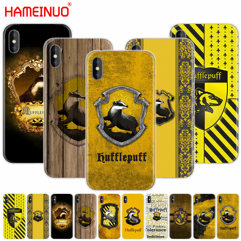 Harry Potter Hufflepuff Badger Cell Phone Cover Iphone X 8 7 6 4 4s 5 5s Se 5c 6s Plus