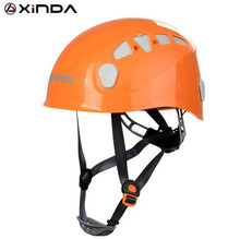 Xinda Professional Mountaineer Rock Climbing Helmet Safety Protect Outdoor Camping & Hiking Riding Helmet Survival Kit xinda outdoor adjustable helmet climbing equipment expand helmet hole rescue mountain climbing helmet protective safety helmet