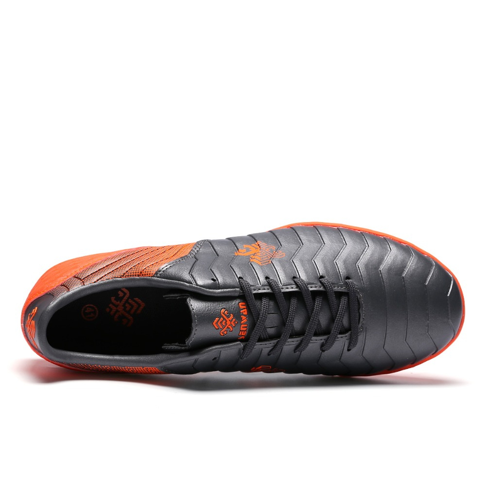 14d723a3b 2018 China Red Indoor Soccer Shoes For Men And Women Waterproof Football  Boots Sport Shoes Lace up Sneakers Chuteira De Futebol-in Soccer Shoes from  Sports ...