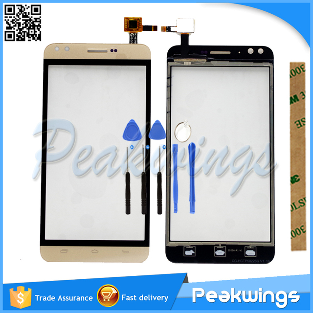 Touch Sensor For Prestigio Muze C3 PSP3504 PSP3504 Duo Touch Screen Digitizer Panel With Tracking number+Tools+3M Sticker