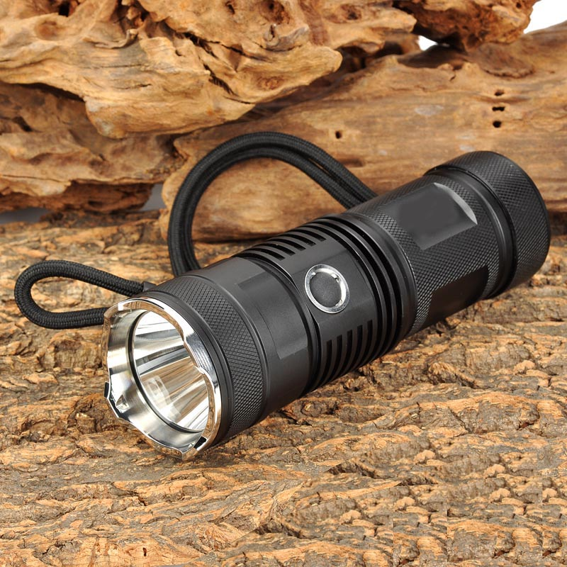 Ultrafire 18650 glare flashlight XM-L T6 1000LM 5-Mode LED torch lantern hunting LED caving tactical switch luz 18650 flashlight ultrafire m3 t60 3 mode 910 lumen white led flashlight with strap black 1 x 18650