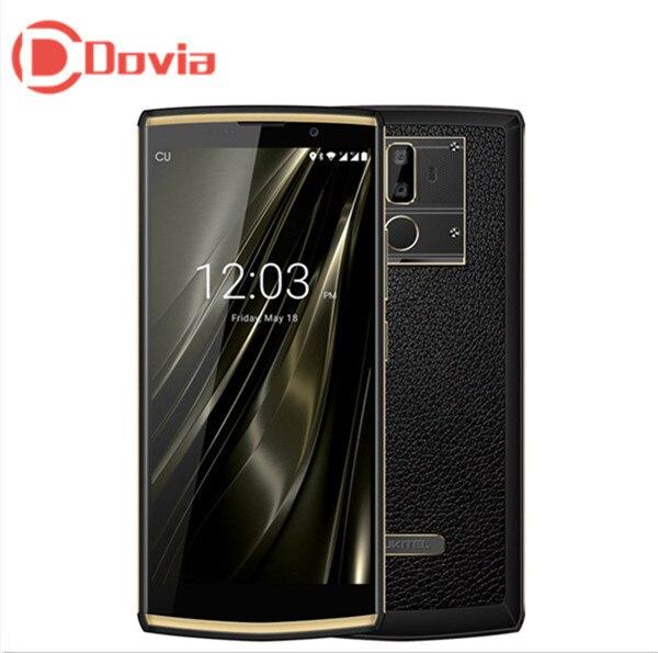 OUKITEL K7 4g Mobile Téléphone 10000 mah 6.0 Android 8.1 MTK6750T Octa Core 4 gb + 64 gb 13MP + 2MP Retour Cames D'empreintes Digitales Mobile Téléphone
