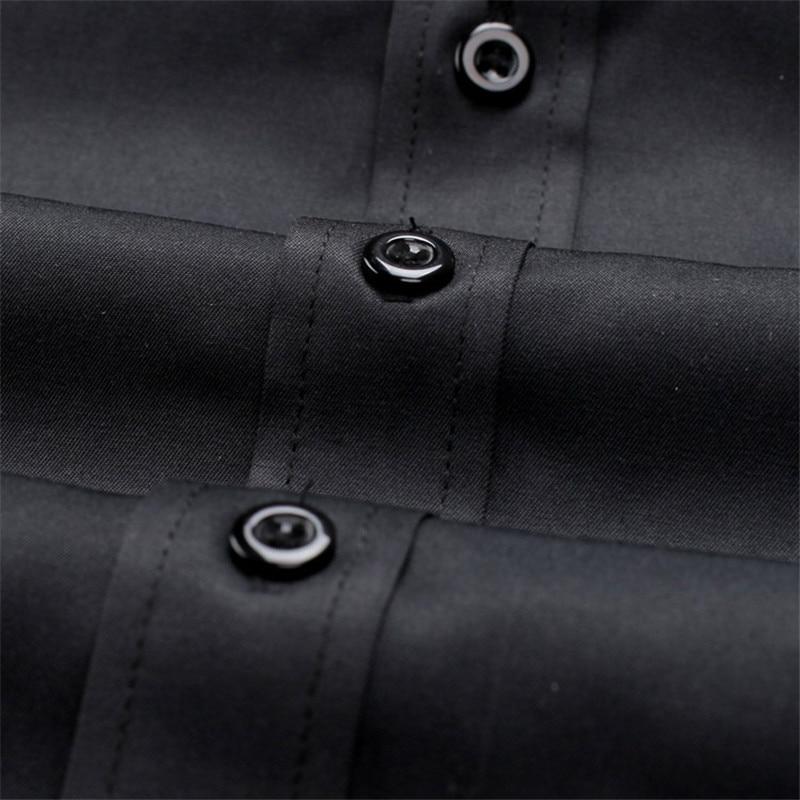 VISADA JAUNA Heren Overhemden Europa maten Nieuwkomers Slim Fit - Herenkleding - Foto 5