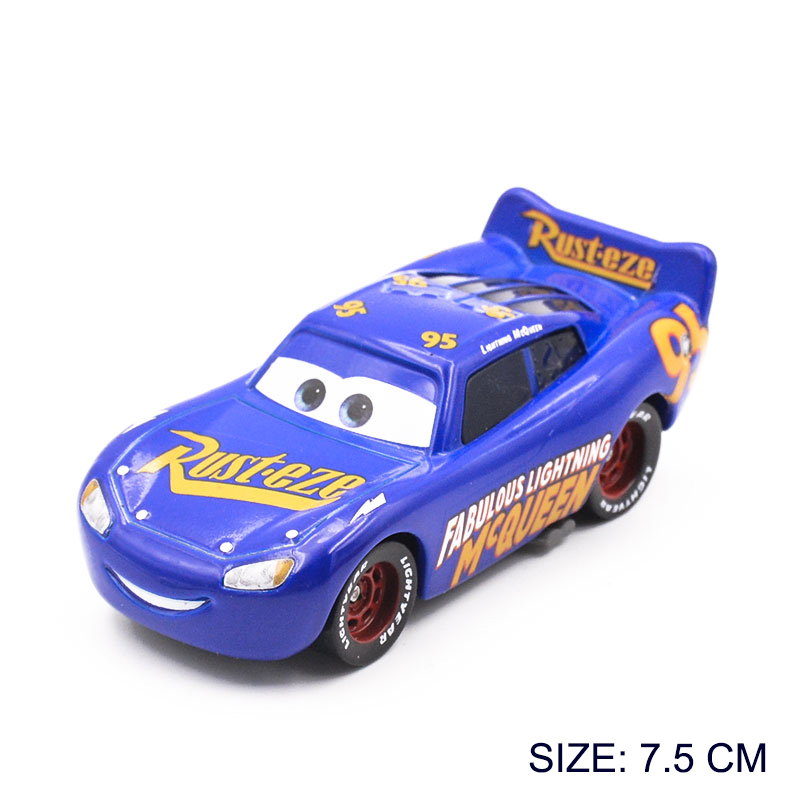 1 55 Disney Pixar Cars 3 Diecast Metal Alloy Car Model Toy Champion Edition  Lightning McQueen Car Toys Boy Birthday Gift-in Diecasts   Toy Vehicles  from ... b7cb17bb7a84