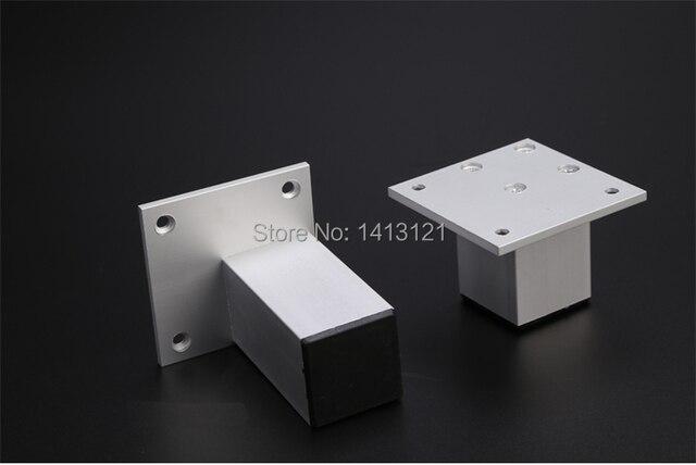 6 cm mobili in alluminio del piede della gamba europeo letto tv