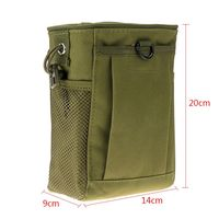 Military Protable Molle Utility Hunting Rifle Pouch Ammo Pouch Tactical Gun Magazine Dump Drop Reloader Hot