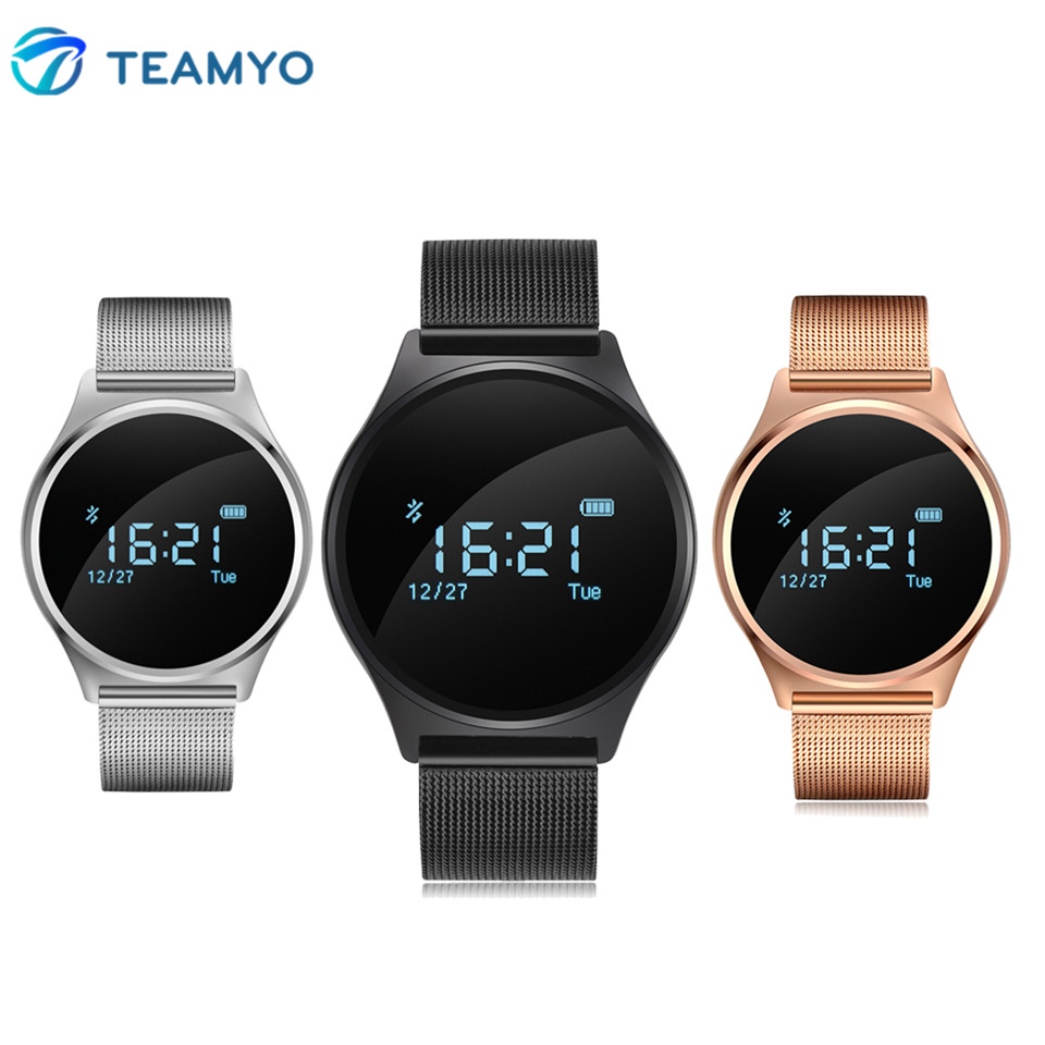 Teamyo M7 Smart Wrist Band Watch Blood Pressure Heart Rate Smart Bracelet Waterproof Pedometer Wristband with