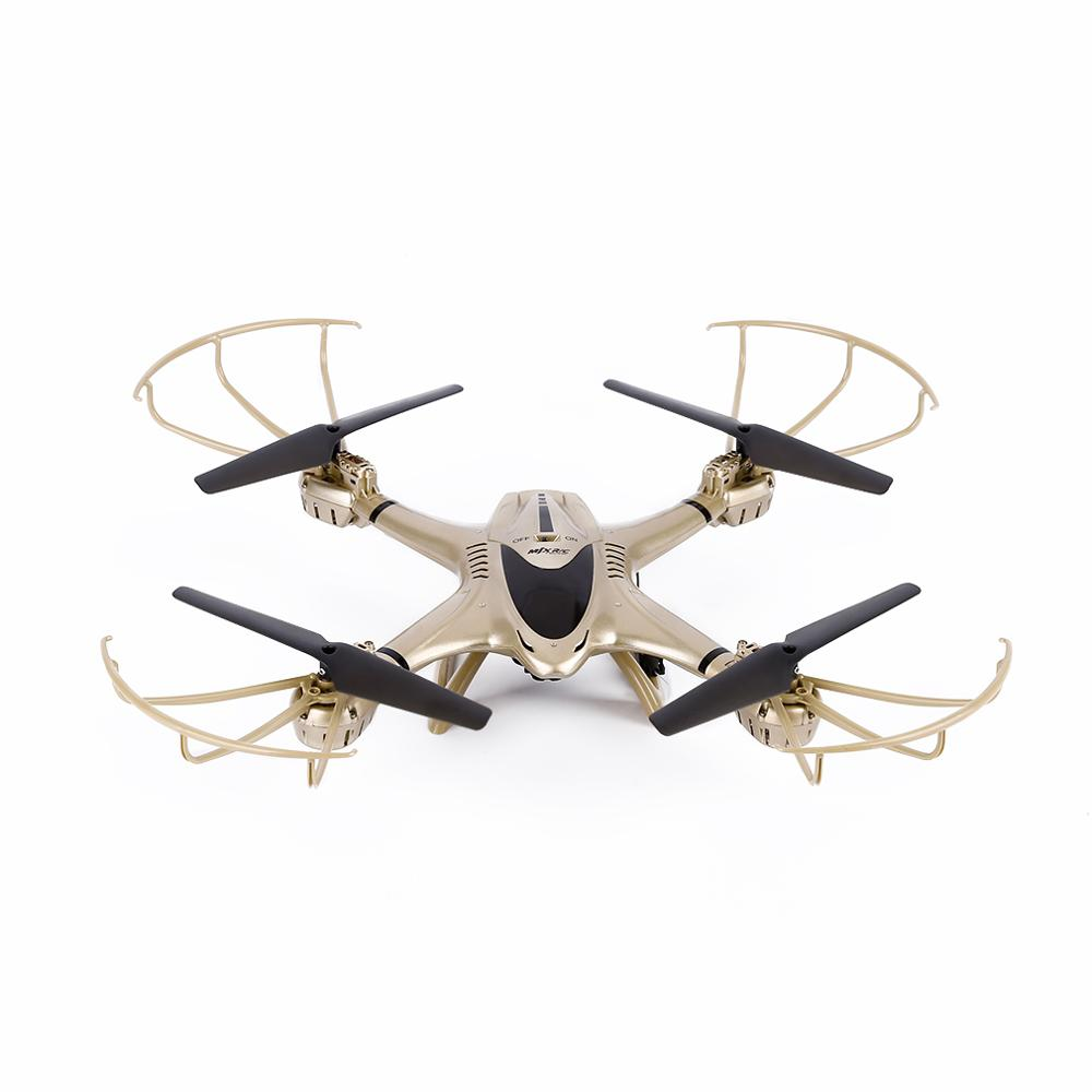 RCmall FPV Drone RC Quadcopter Hélice de Oro Wifi 2.4 GHz 4 Canales 6 Axis Gyro