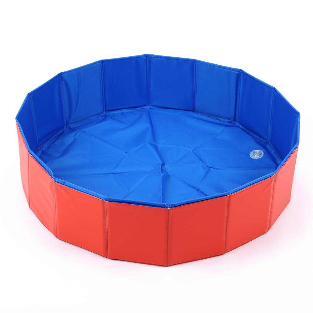 Sommer Dourable Große Pvc Faltbare Hund Katze Pet Schwimmbad